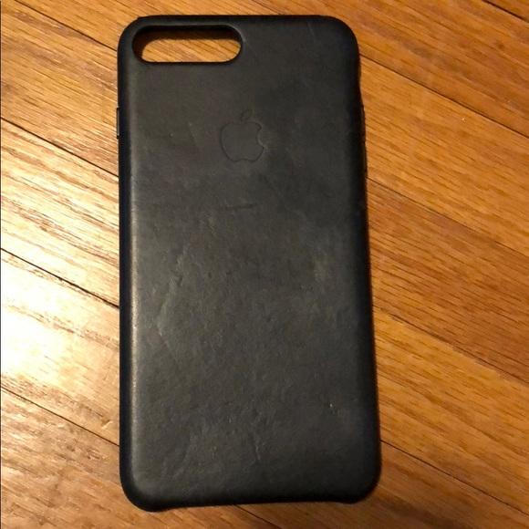 4297187d84de Apple Accessories - iPhone 8 Plus   7 Plus Leather Case - Black